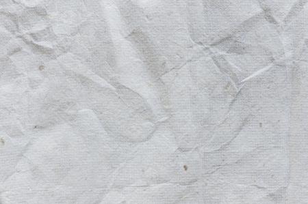wrinkled paper: detail van oud gekreukeld papier textuur achtergrond Stockfoto