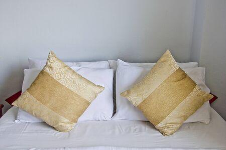 Chambre avec un style � double oreillers