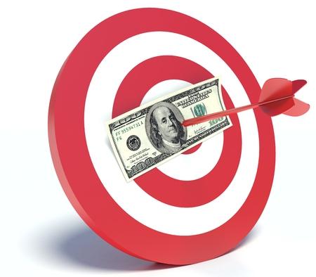비즈니스, 달러와 다트 성공