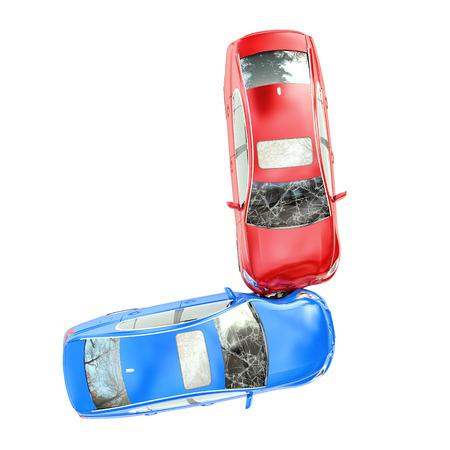 ongeval op de weg