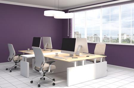 entre Office. illustration 3D