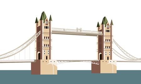 london bridge: the ancient bridge over the river