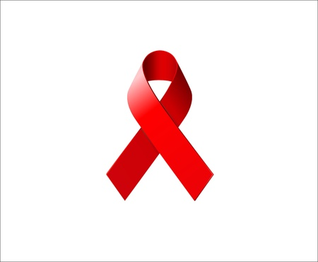 AIDS Awareness Ribbon Stock Vector - 13914754