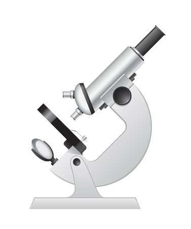 Medical microscope Stock Vector - 13920383
