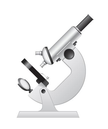 doctors tools: Medical microscope Illustration