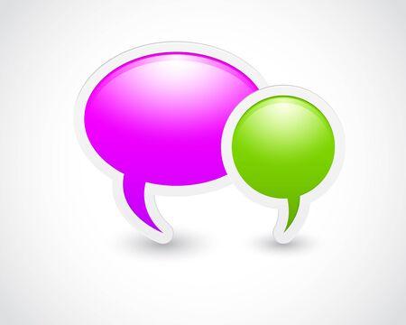 message realistic design elements. eps 10 Stock Vector - 13921357