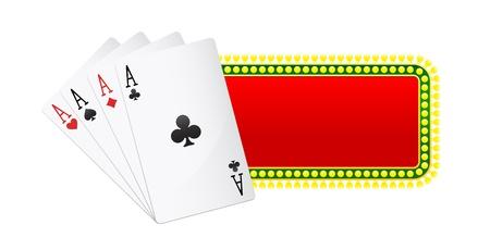 Casino banners Vector