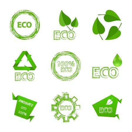 Ecología conjunto de iconos