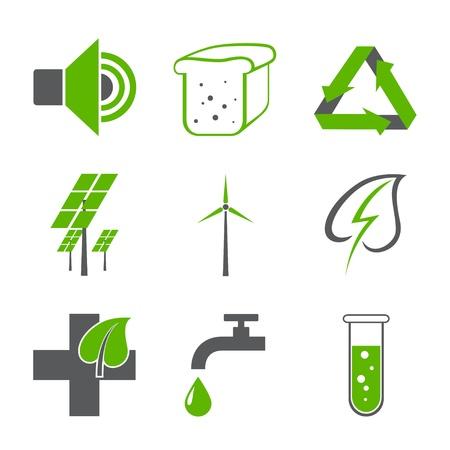 environmental logos Stock Vector - 15651318