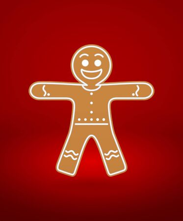 Gingerbread Man Stock Vector - 16925814