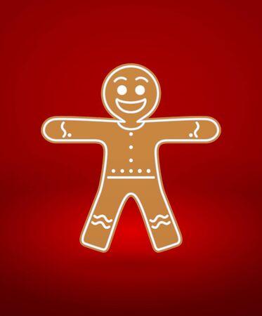 Gingerbread Man Stock Vector - 16925814