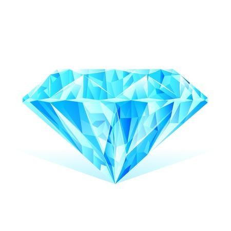 zafiro: diamante azul de cristal