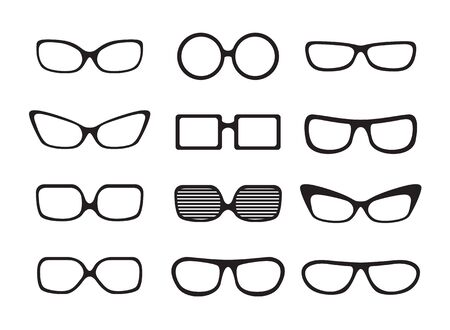 glasses set Stock Vector - 17371966