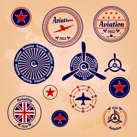 propeller: air badges and labels