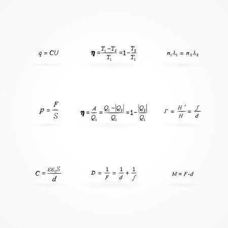 scalar: background with equations and formulas