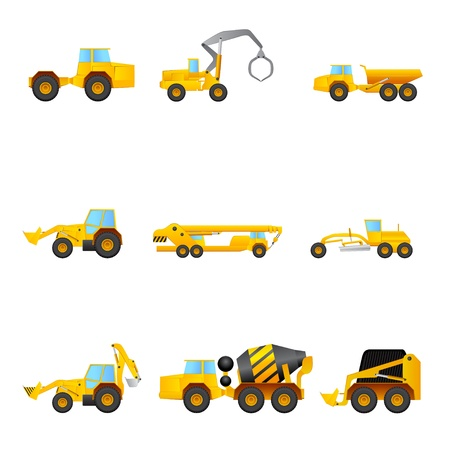 set of Building machines 版權商用圖片 - 17670878
