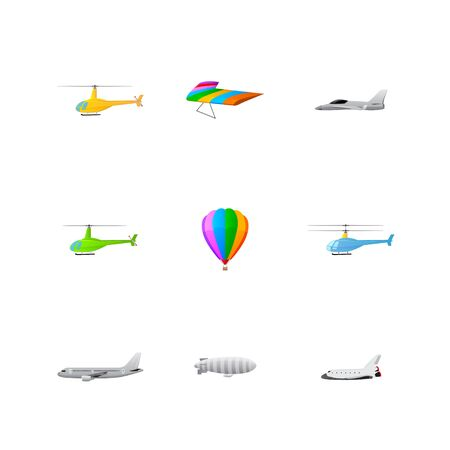 set of transport icons Stock Vector - 17670874