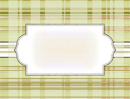 frame on the checkered background Stock Vector - 17879163