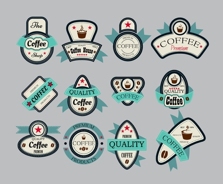 scoop: coffee house labels