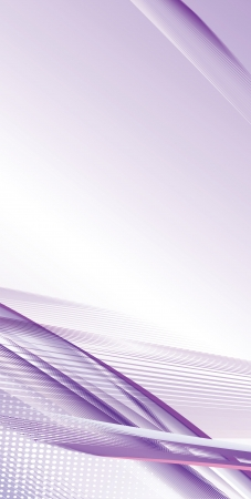 Abstract lilac template