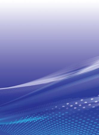 cover art: Blue stylish background