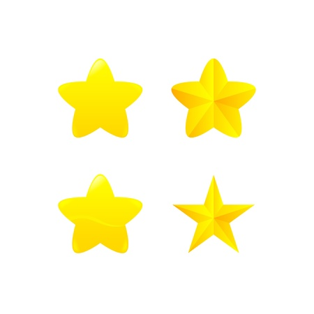 variations of star award Vector