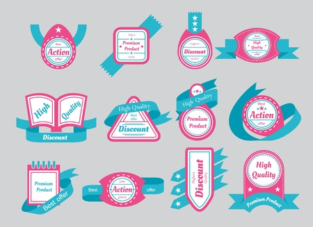 package printing: labels with cyan ribbons