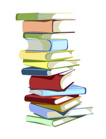 stack of books Vettoriali