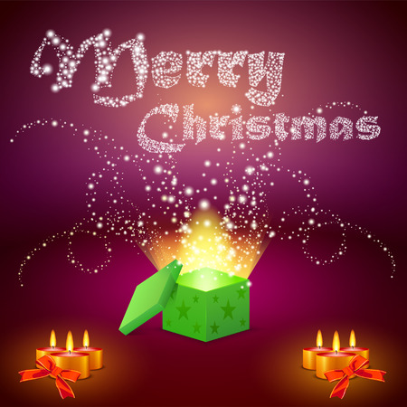 inkle: Merry Christmas gifts and candles