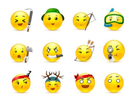 armbrust: Die sch�nste anime smiles gelben werde mit einer Armbrust und einer Vielzahl von anderen invenratem jagen