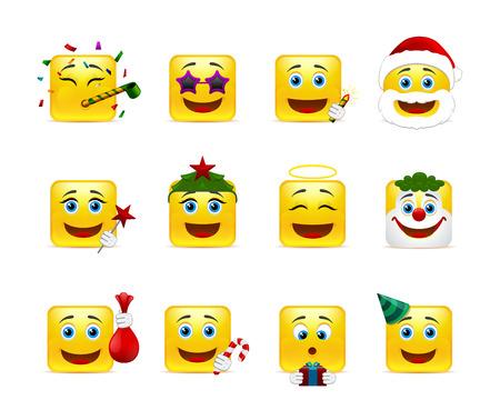 caras tristes: Diversión y alegría en el país sonrisas de vacaciones de invierno