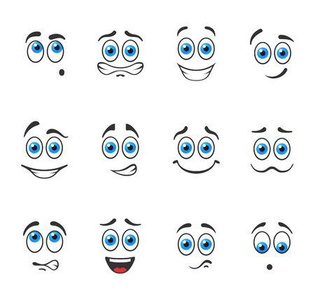 ojos azules: Sonrisas divertidas con los ojos azules