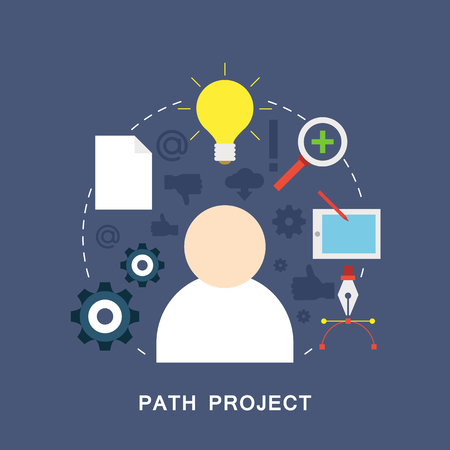 Picture of Path project Illustration