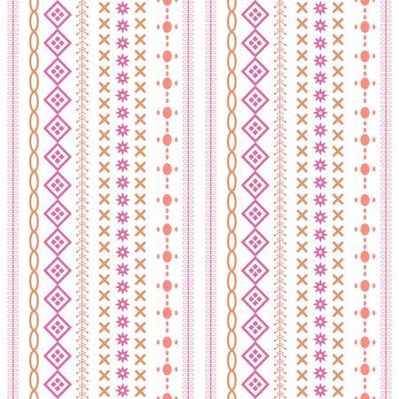 Beautiful design embroidery floral for wallpaper decoration. Collection Ilustración de vector