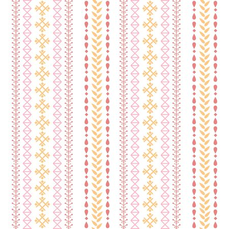 Simple embroidered design pattern for living room decor. Collection