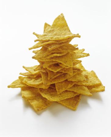 tortilla chips: A Pile of Tortilla Chips