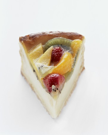 torte: A Slice of Fruit Torte