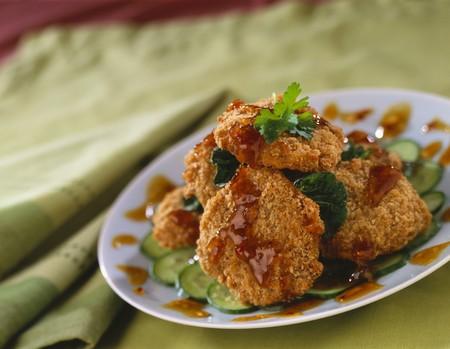 food: Chicken nuggets