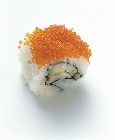 california roll: One Reverse California Roll LANG_EVOIMAGES