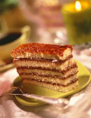 to cake layer: Fetta di Layer Cake