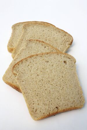 several breads: Slices of Kamut Bread