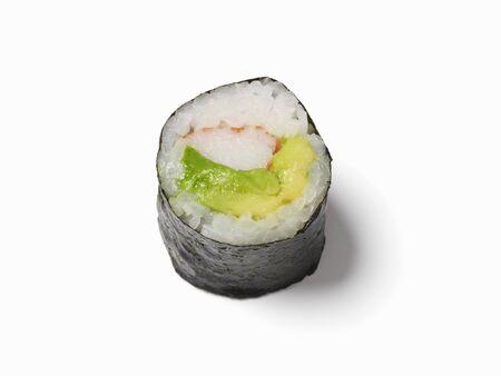maki sushi: Maki sushi � l'avocat