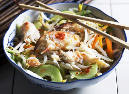 crabmeat: Oriental crab salad LANG_EVOIMAGES