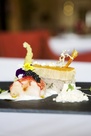 food: Lobster, seafood pudding and crab pasty