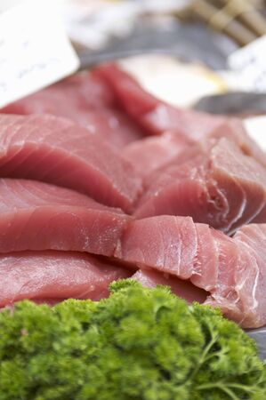 tunafish: Tuna fillets