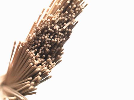 soba noodles: A bunch of soba noodles LANG_EVOIMAGES