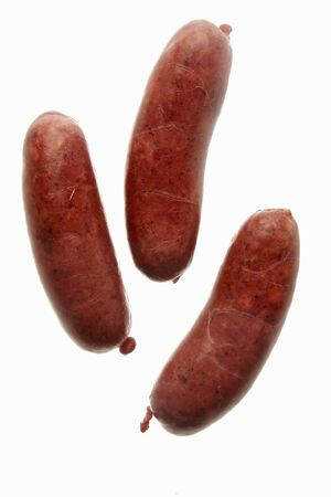 chorizos: Three Mexican chorizos