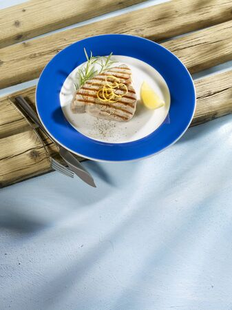 tunafish: Grilled tuna steak