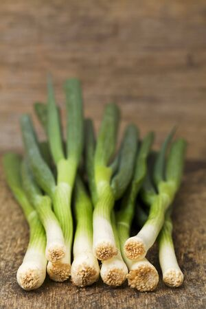 leeks: Several leeks LANG_EVOIMAGES