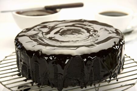 coatings: Iced chocolate cake LANG_EVOIMAGES